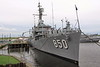 Fall River, Massachusetts - Battleship Cove - USS Joseph P Kennedy Jr 02