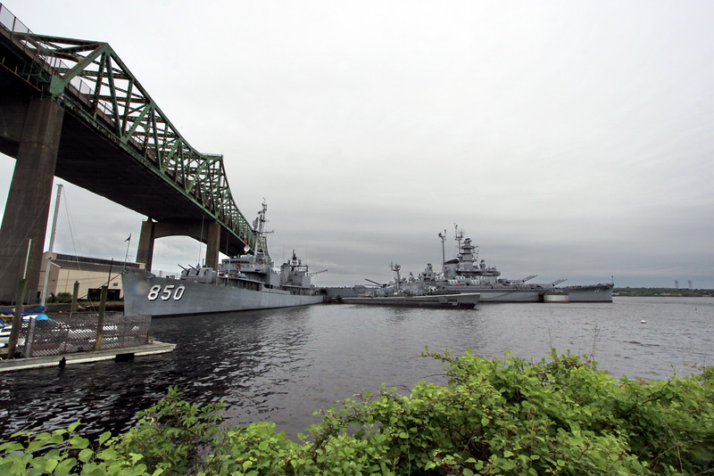 Fall River, Massachusetts - Battleship Cove - Entrance Area 05
