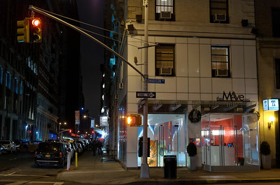 Our first hotel, on Madison Avenue
