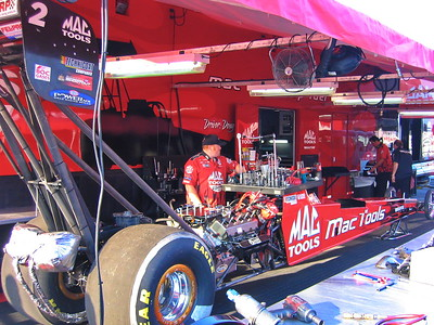 2004-03-21 Gainesville, NHRA Gatornationals, Day 3, Pits