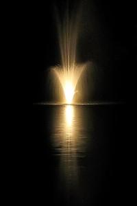 Carribean Beach Resort, Fountain at Night