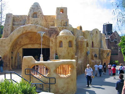 Disney MGM Studio's, Star Tours Area