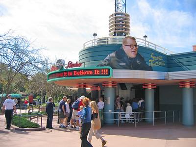 Disney MGM Studio's, Sounds Dangerous Entrance