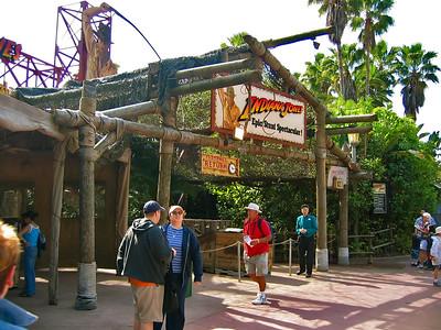 Disney MGM Studio's, Indiana Jones Area