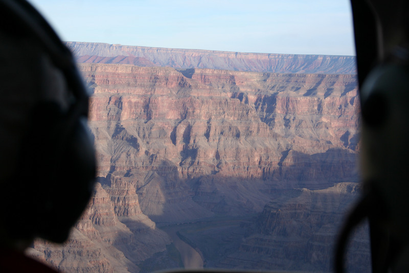 The Grand Canyon from the air