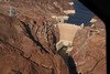 The Hoover Dam from the air