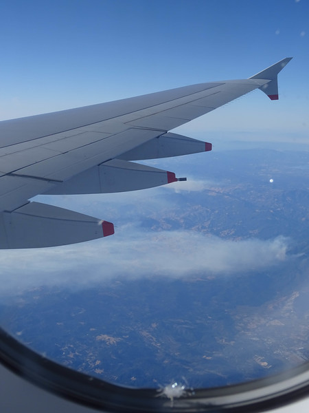 Wildfires north of San Francisco