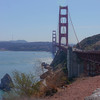 Golden Gate Bridge from the northern viewpoint