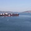 APL Korea heads for home port Oakland