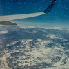 Somewhere over the Rockies