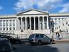 The US Treasury Department building.