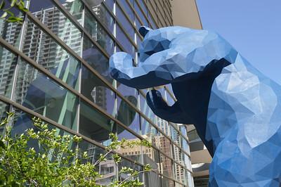 43 - The Big Blue Bear