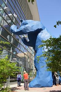 44 - The Big Blue Bear