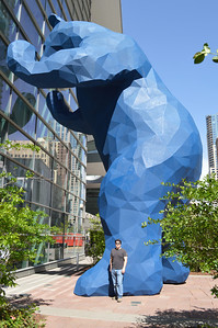 45 - Mike and The Big Blue Bear