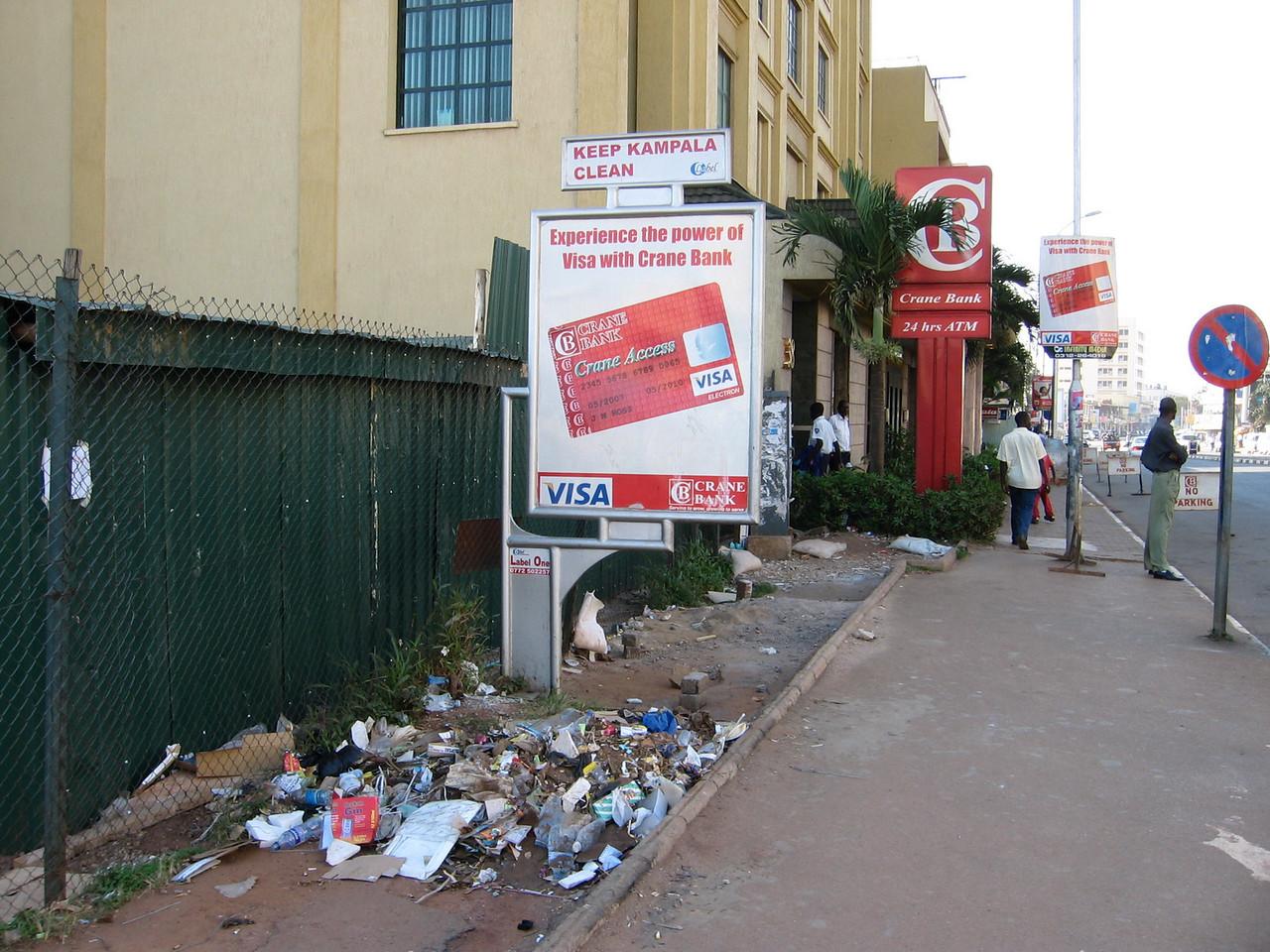 Keep Kampala clean!