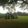 Menhirs bij de Dolmen d'Oppagne