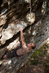 Grab your sunnies, a blinding white Ross on The Unbearabel Lightness of Being 5.11c at Bibliothek