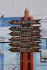 Ushuaia - Street Signs and Distances 2