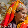 Portrait- Woman in the hills. Outside of Pithoragarh.