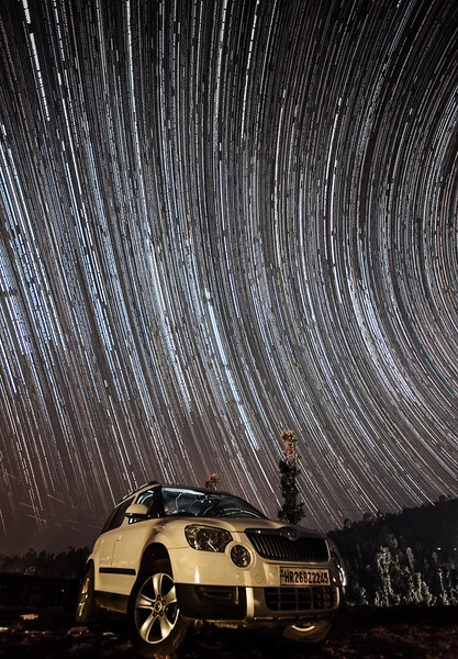 The iconic Star trail which launched my career and made me a NG photographer!