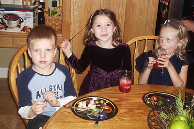 Spencer, Christiana, and friend Sidney