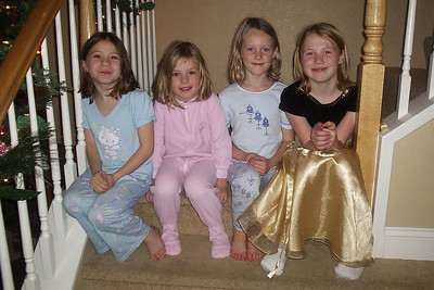 Christiana, Juliana, Sidney, and Lauren