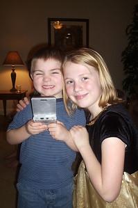 Evan and his big sister Lauren