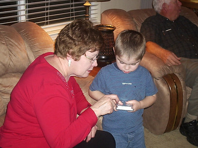Evan tells Grandma has it works