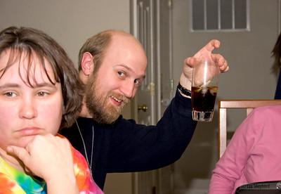 Joel shuns corporate pressure and invents apple coke.