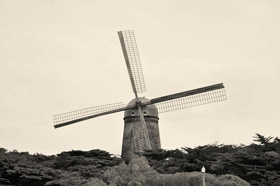 Windmill, golden gate park