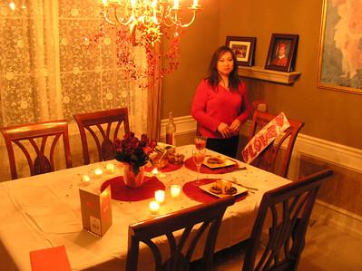 Valentines Dinner 2006