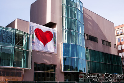 Portland, Maine is once again covered in hearts by the Valentine's Day Bandit.