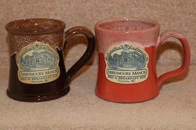 Souvenir Mugs from the 2017 visit.