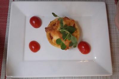 Tomato Basil Tartlet