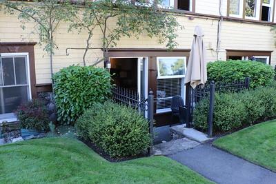 Entrance to Garden Suite