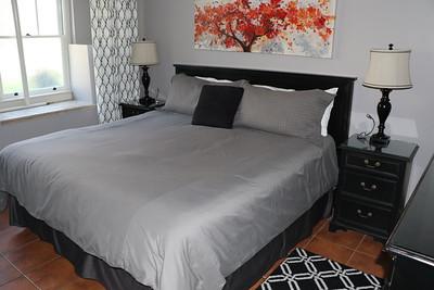 Bedroom in Garden Suite
