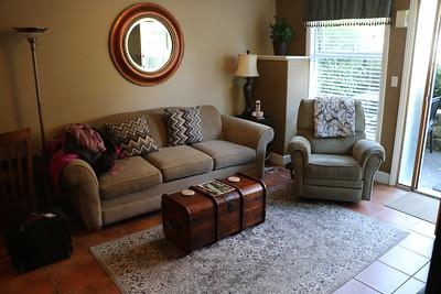 Seating area of Garden Suite