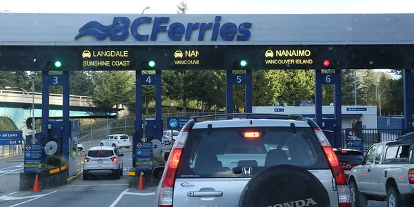 BC Ferries: Horseshoe Bay to Departure Bay - 21 September 2017