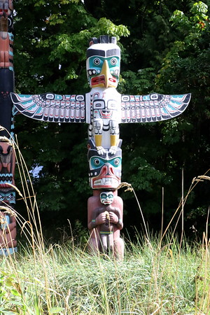 Stanley Park Totem Poles - 18 September 2017
