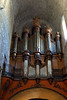 Organ in St Guilhem le Desert cathedral
