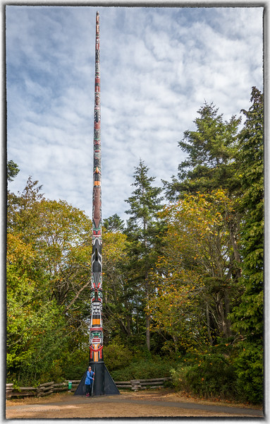 Tall Totem in Beacon Hill Park