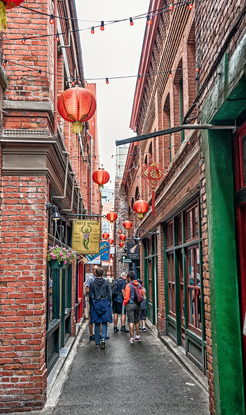 Fan Tan Alley in Victoria BC