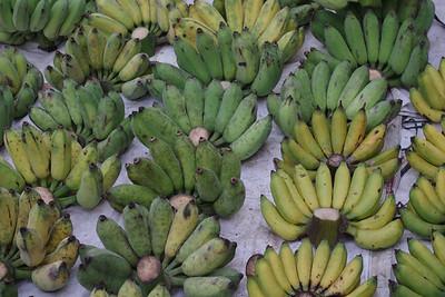 """Buy something from me?"" Bananas: any shade you like."