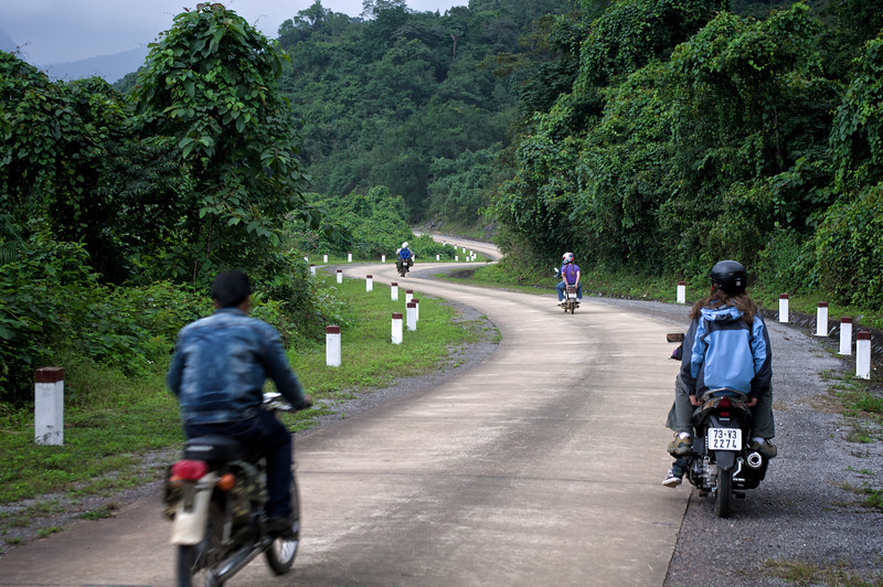 Old Laos road