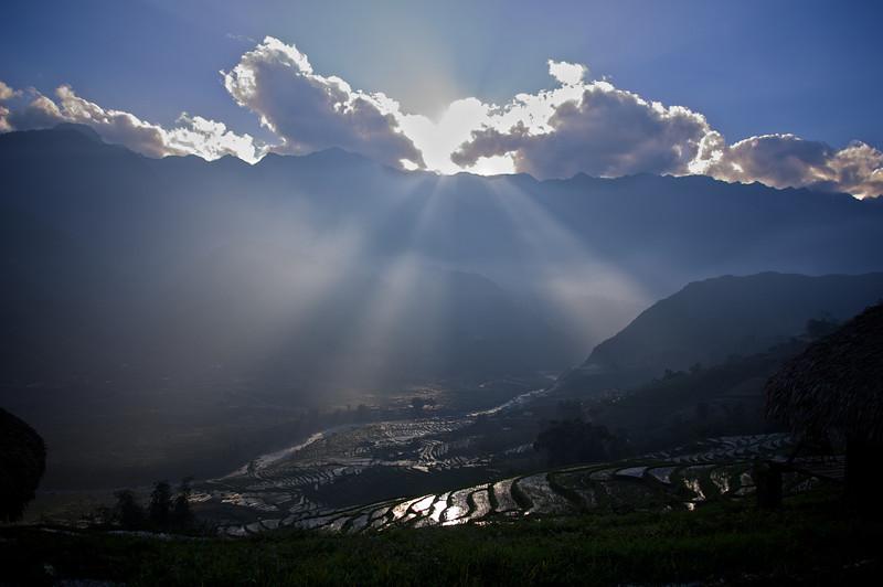 View from Hmong Mountain Retreat