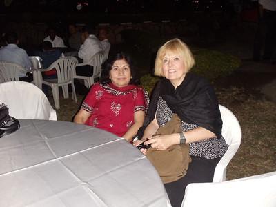 Sudha and Janice IAU Dinner