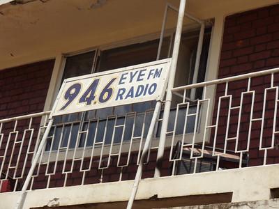 Visit to Iganga Radio station re Camp Publicity