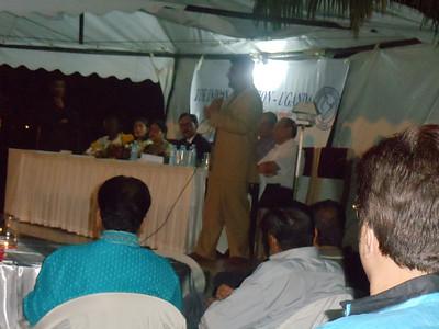 Sanjay Tanna speaking at IAU dinner