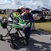 Max kart racing at Homestead-Miami Speedway.