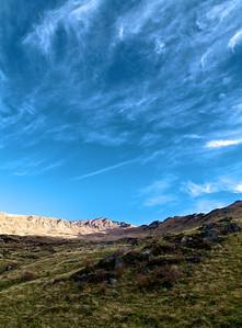 View up to Roys Peak, Wanaka, Jun 2011